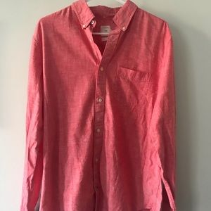 Pink Button-Up